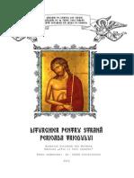 Liturghier Pentru Strana Postul Mare