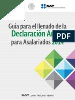 Guía Para El Llenado de La Declaración Anual Para Asalariados 2014