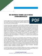 Feba Mi Criterio Sobre Las Ideas Fundamentales II