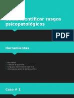 Como Identificar Rasgos Psicopatológicos