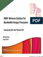 HC26.11.310 HBM Bandwidth Kim Hynix Hot Chips HBM 2014 v7