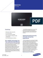 Samsung SSD 850 EVO Data Sheet Rev 1 0