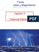 Capitulo 04 Potencial Electrico