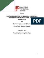 TESISDISEÑO DE UN SISTEMA DE SEGURIDAD DEL ESTADIOMONUMENTAL DE ATE MEDIANTE EL SISTEMABIOMÉTRICO