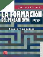 Boisvert - La Formacion Del Pensamiento Critico, Teoria y Practica