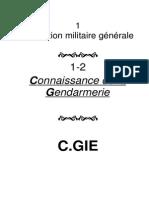 Connaissance Gendarmerie 1