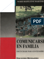 Comunicarse en Familia - Marie Madeleine Martinie