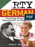 Dirty German Everyday Slang