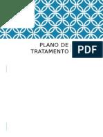 Plano de Tratamento