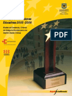 Guía Para Instituciones Educativas 2005 - 2006 (Compensar)