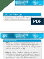 Aula 01 - Leis de Newton