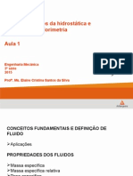 aula1-fundamentos hidrost+â-ítica e calorimetria