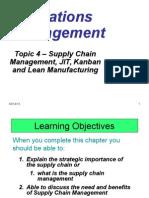 6 OM Supply Chain,JIT,Kanban,Lean