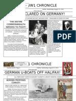 WW1 Newspaper