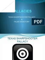 TEXAS SHARPSHOOTER FALLACY & BLACK-OR-WHITE FALLACY.pptx