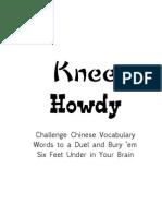 Knee Howdy - Intro - Chap 1