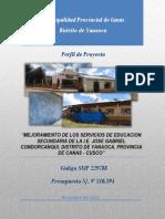 PIP Educación - Jose Gabriel Condorcanqui