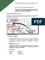 Informe Topográfico - Occobamba