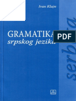 Klajn Gramatika Srpskog Jezika Za Strance