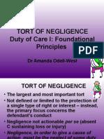 Duty of Care (I) Slides