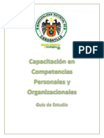 Separata Capacitación en Competencias Personales y Organizacionales