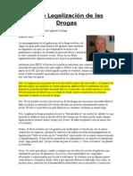 La no Legalización de las Drogas