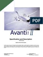P180 Avanti-Specification and Description