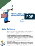 Reklamasi vs Rtrw