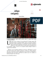 La Jornada_ El Código Enigma