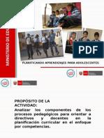 Planificacion Curricular Ejemplo