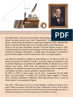 Biografía de Juan Pablo Duarte