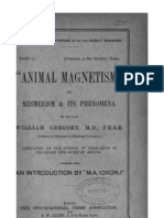 Animal Magnetism or Mesmerism & Its Phenomena by William Gregory