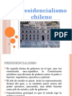 presidencialismo chileno