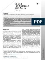 2014 Assessment and Treatment of Children With Cerebral Palsy