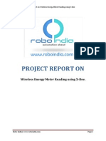 A Project Report on Wireless Energy Meter Reading Using X-Bee