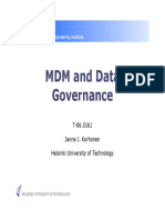 MDM and Data Governance
