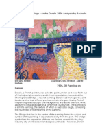 Charred Cross Bridge – Andre Derain 1906 Analysis by Rachelle DiaB.docx