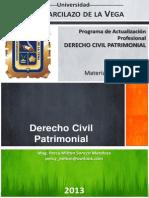 Derecho Civil Patrimonial Materiales - Arequipa 2013
