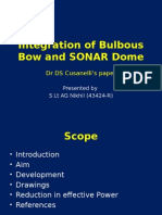 Integration of Bulbous Bow and SONAR Dome.pptx