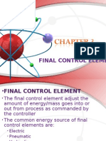 Final Control Element(Chp3)