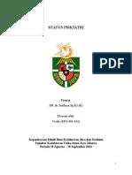 Status Ujian Psikiatri - Cecile - 2013.061.142