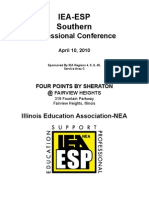 IEA ESP Southern Conference Brochure