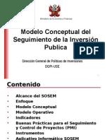 Seguimiento de la inversión publica