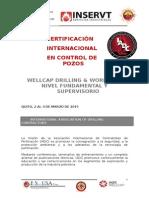 Curso Well Control Marzo 2015 Quito Ecuador