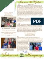 Johnson Prayer Letter Update Jan2010