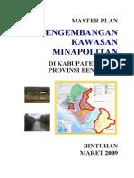 Master Plan Minapolitan Kabupaten Kaur