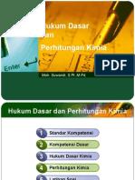 Hukum Dasar Dan Perhitungan Kimia Swd