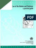 [SẢN] W4.5 - Must read  - Post-partum care WHO.pdf http://bsquochoai.ga || bsquochoai