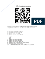 qr code assessment