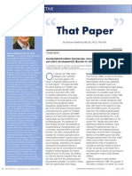 """That Paper"" by Andrew Wakefield, MB, BS, FRCS, FRCPath"